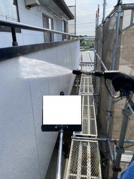 2021/6/8 外壁高圧洗浄
