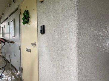 2021/6/12 外壁高圧洗浄