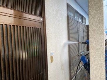 2021/5/8 外壁高圧洗浄