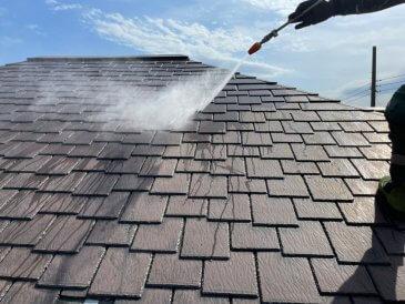 2021/5/10 屋根高圧洗浄