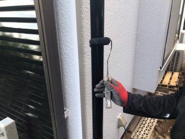 2021/5/23 雨樋塗装作業2回目