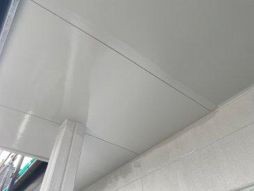 2021/5/26 軒裏天井塗装作業1回目