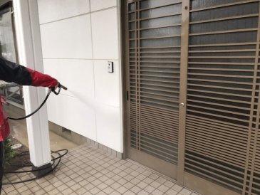 2021/5/19 外壁高圧洗浄