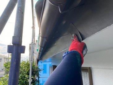 2021/5/31 破風板ケレン作業