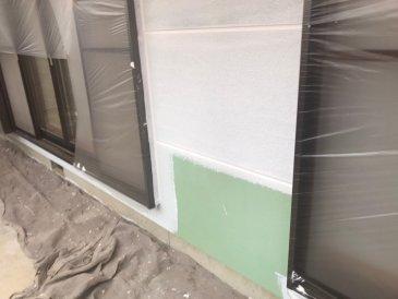 2021/6/5 外壁下塗り作業