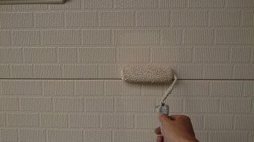 2021/6/24 外壁塗装作業2回目