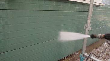 2021/6/18 外壁高圧洗浄