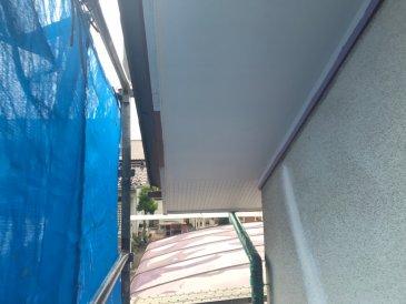 2021/6/16 軒天塗装作業2回目