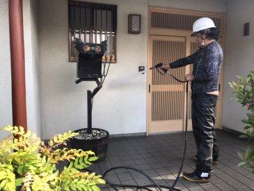 2021/6/14 外壁高圧洗浄